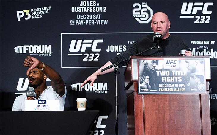 🤑 «Засунь деньги в рот и освободи меня от контракта». Лучший боец UFC Джон Джонс воюет с Уайтом из-за гонорара (хочет как в боксе)