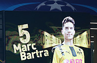 Марк Бартра, Боруссия Дортмунд, Монако, Лига чемпионов, болельщики, фото, бундеслига Германия