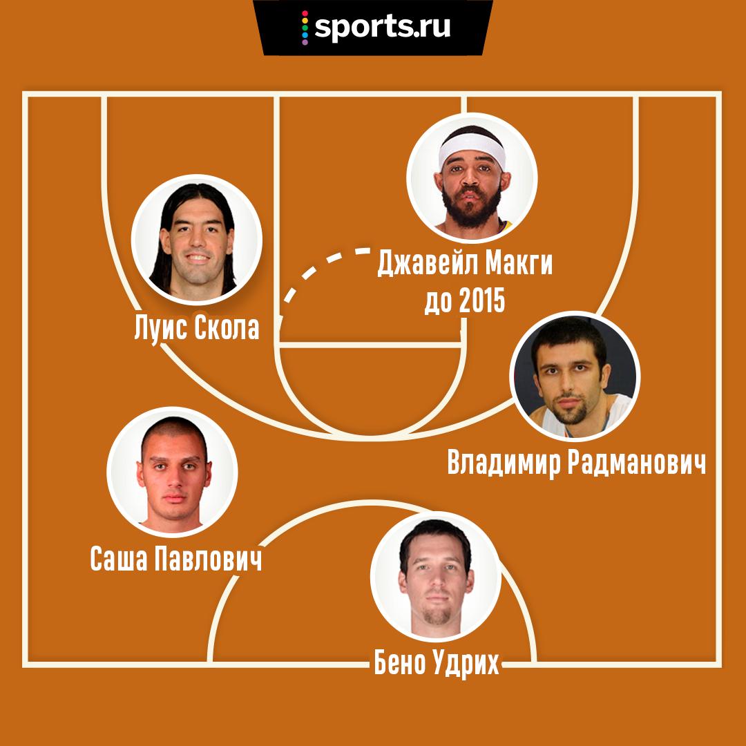 Пятерка баскетболистов из разных стран и клубов, которых вы видели в игре: кого возьмете в свою команду?