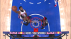 Andre Drummond with one of the day's best dunks