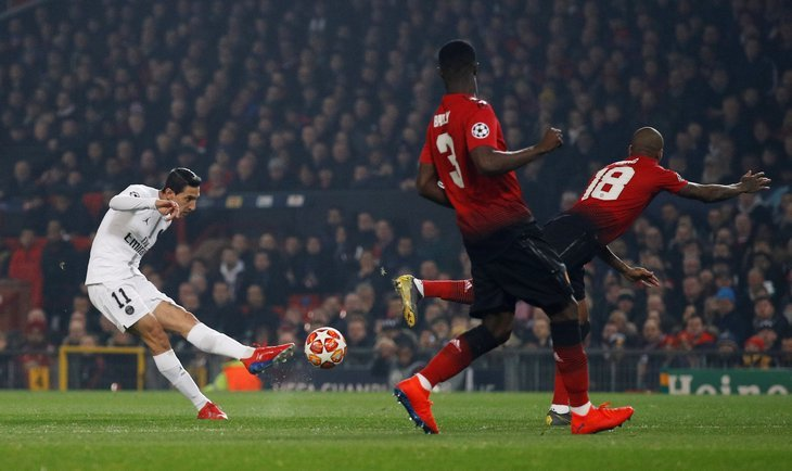 Переписали историю: ПСЖ победил «Манчестер Юнайтед» вЛиге чемпионов— видеообзор