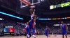 John Collins throws down the alley-oop!