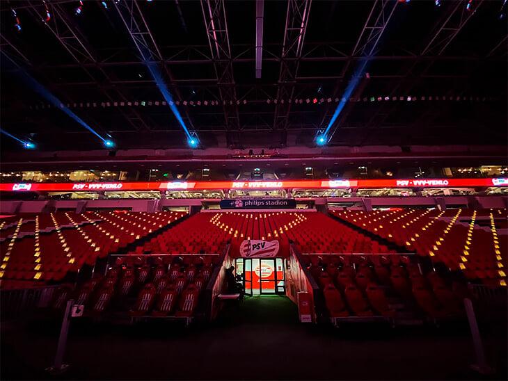 🕯 ПСВ зажег свечи на пустых креслах стадиона. В память о тех, кого не стало в 2020-м