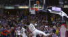 Wesley Matthews hits the shot with time ticking down