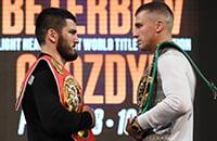 Бетербиев и Гвоздик определяют короля полутяжелого веса. Онлайн новой встречи России и Украины в боксе