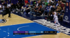 Shaquille Harrison with one of the day's best dunks