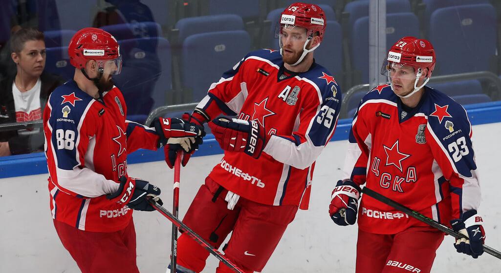 ЦСКА проиграл 5-й матч подряд за Кубок Открытия КХЛ