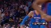 Paul George with the great assist!