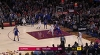 LeBron James with 39 Points  vs. Los Angeles Clippers
