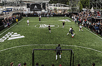 Лучшие фото самой хайповой футбольной площадки лета