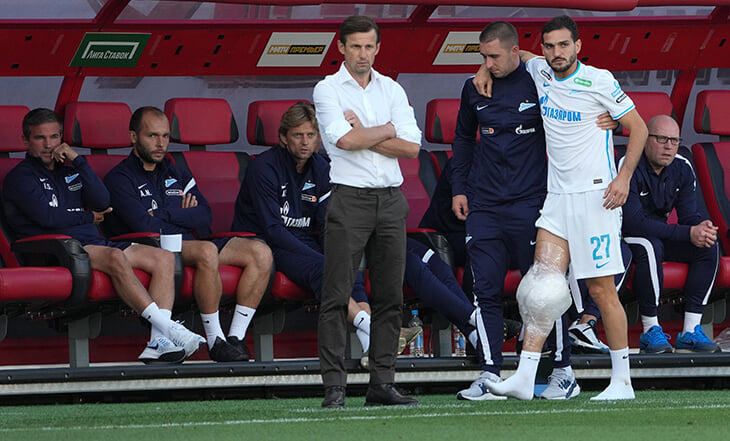 Оздоев не играет уже 2 месяца из-за растяжения связок колена. А это не слишком долго?