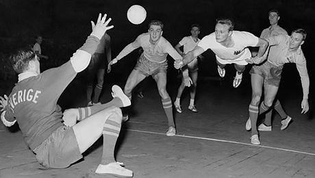 Как гандбол выглядел 55 лет назад