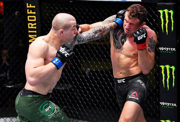 Средневесы закатили рекордный бой UFC. Теперь Марвин Веттори – главная угроза титулу Адесаньи