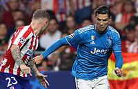 «Атлетико» летел «Юве» 0:2 дома, но спас матч