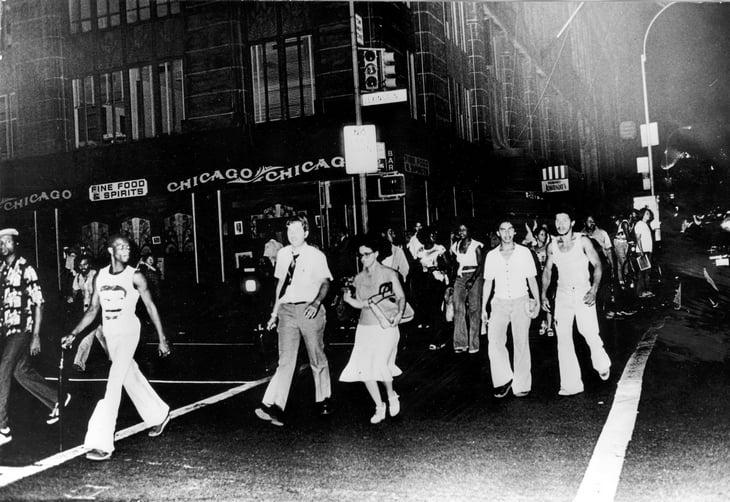В 70-е Нью-Йорк был страшным: около US Open стреляли и ловили маньяка, на корты летел мусор