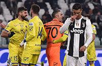 Роналду не забил пенальти – помешал вратарь, которому он сломал нос в августе