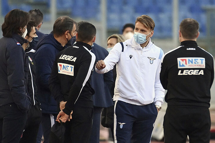 В Серии А повторили осенний цирк: «Торино» не пустили в Рим, «Лацио» просто ждал час на стадионе