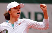 Ролан Гаррос, WTA, Ига Швентек