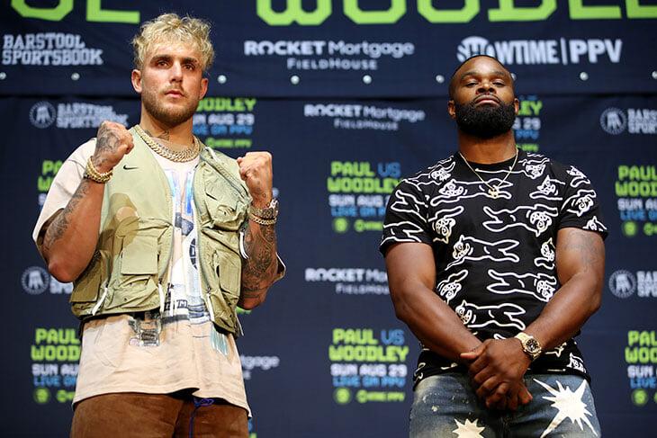 Джейк Пол против Тайрона Вудли. Онлайн боксерского боя блогера и экс-чемпиона UFC