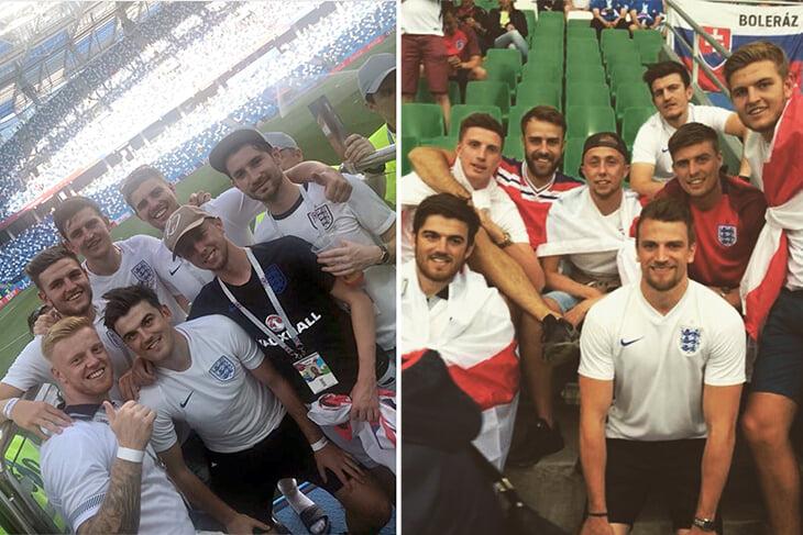 Фантастический путь Магуайра: на Евро-2016 болел за Англию на трибунах, а теперь играет с ней в полуфиналах