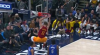 Domantas Sabonis rocks the rim