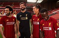 Ливерпуль, премьер-лига Англия, Мане, игровая форма, Мохамед Салах