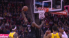 James Harden hammers it home