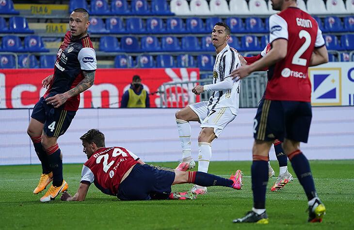 Роналду сделал идеальный хет-трик за 22 минуты. Обогнал Пеле по голам в официальных матчах иполучил личное подтверждение Короля