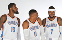 Оклахома-Сити, НБА, Миннесота, Хьюстон, Лейкерс, Денвер, Филадельфия, Клипперс, Бостон