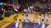 A great dime by Jordan Clarkson leads to the score