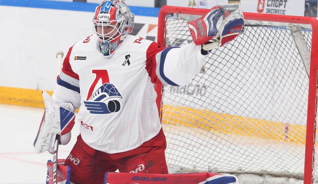 Паскуале из Локомотива признан лучшим вратарем сезона КХЛ