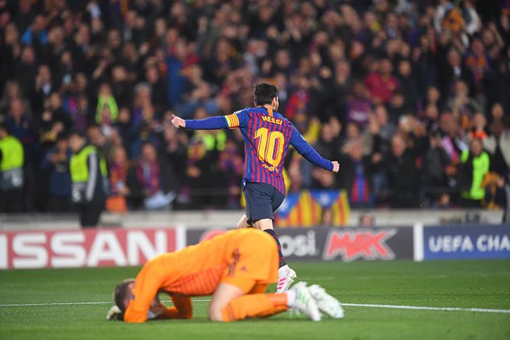 Голландский «Аякс» обыграл итальянский «Ювентус» и вышел в полуфинал футбольной Лиги чемпионов