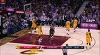 Mike Dunleavy with the nice dish vs. the Cavaliers