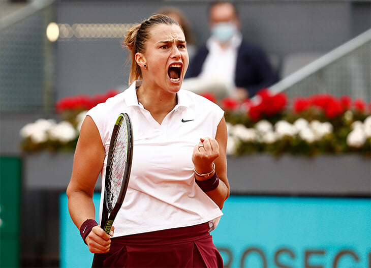 Соболенко разнесла Мадрид: 176 виннерсов, первый титул на грунте и попадание в топ-4