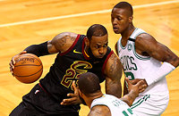 Кливленд, НБА, Бостон, видео, Леброн Джеймс, НБА плей-офф