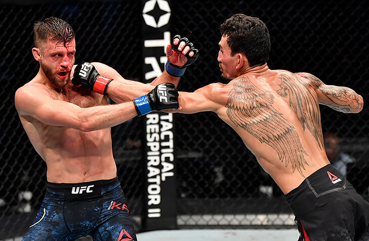 Макс Холлоуэй – опаснейший боец UFC. У него новый топовый рекорд – по 11 ударов в голову каждую минуту