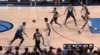 Seth Curry sets up the nice finish