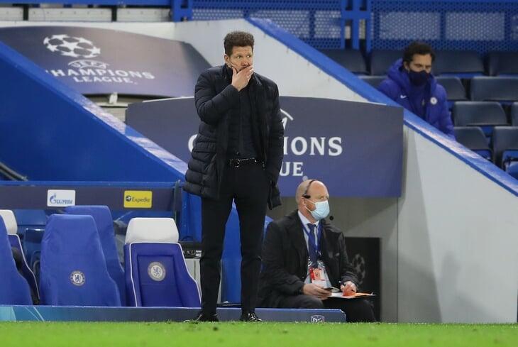 Симеоне рисковал с первых минут – «Атлетико» прессинговал как «МЮ». «Челси» мощно наказал в контратаках