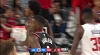Maurice Harkless converts the wild shot