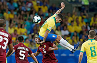 Сборная Бразилии по футболу, сборная Венесуэлы по футболу, Кубок Америки, Тите, Роберто Фирмино