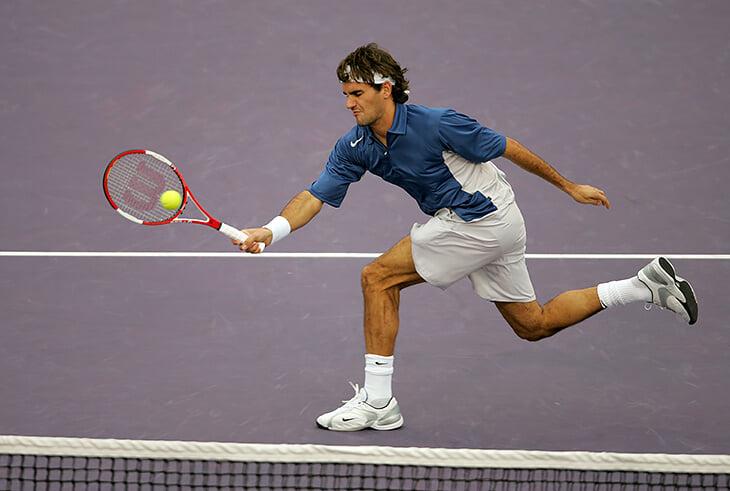 Хроника травм Федерера: две операции на коленях, почти 20 лет проблем со спиной
