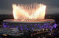 Мы побывали на открытии нового стадиона «Тоттенхэма». Почеттино сказал, что они теперь чемпионы мира по инфраструктуре