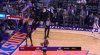 Mikal Bridges nails it from behind the arc