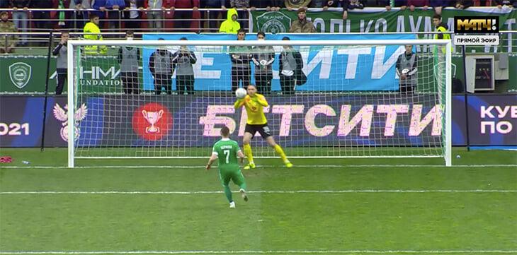 Фролов вытащил «Крылья» в финал: вышел под пенальти и взял паненку!