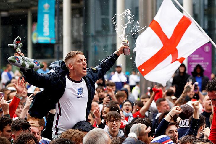 Сборная Англии подарила стране счастье –тут можно проникнуться