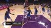 A big slam by LeBron James!
