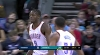 Jerami Grant attacks the rim!