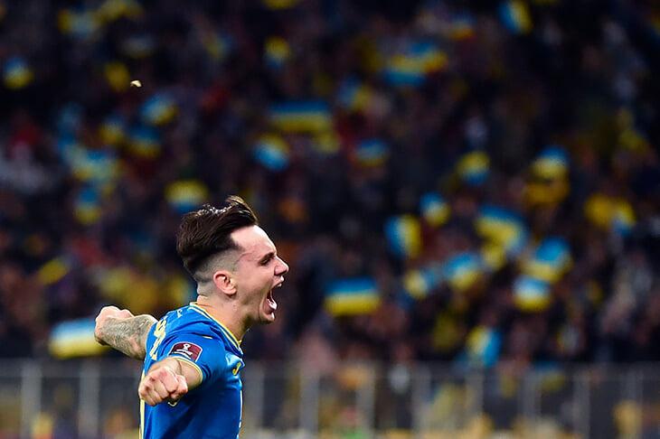 Чумовой гол Украины французам – из-за штрафной в девятку