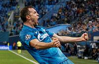 «Зенит» обыграл «Лион» 2:0: забили Дзюба и Оздоев