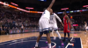 Andrew Wiggins with one of the day's best dunks